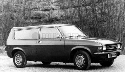 Austin Allegro estate  June 1975.