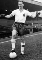 Nat Lofthouse  British footballer  April 1958.