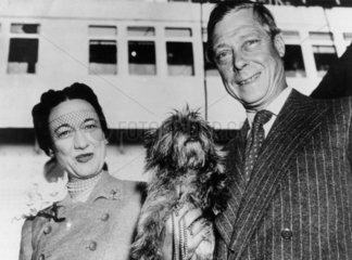 The Duke and Duchess of Windsor  26 May 1951.