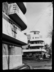 New flats at Clapham  1936