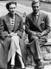 The Duke and Duchess of Windsor  13 September 1939.