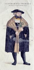 Leonard Fuchs  1545.