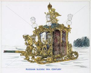 'Russian Sledge 18th Century'  1967.