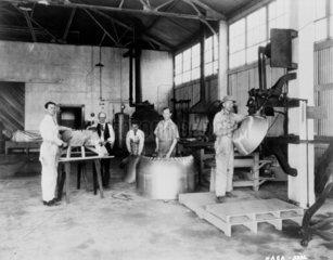 Metal shop  Langley Research Center  USA  1 January 1928.