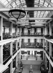 View of the East Hall  Science Museum  London  1938.