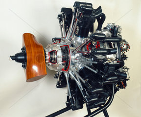 The Armstrong Siddeley 840 hp 'Tiger' aero engine  1931.