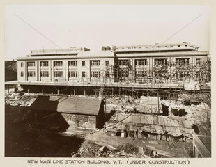Main line station  Victoria Terminus  Bombay  India  c 1930.
