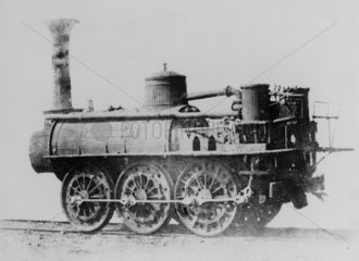 Stockton & Darlington railway locomotive 'Wilberforce'  1832.