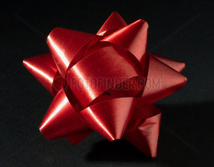 Red decorative bow  1976.