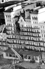 The Grand Hotel after IRA bombing  Brighton  12 October 1984.