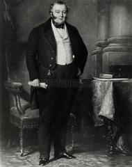 George Hudson  British railway entrepreneur  mid-19th century.