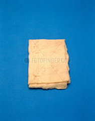 Cotton lint dressing possibly owned by Joseph Lister  c 1850-1912.