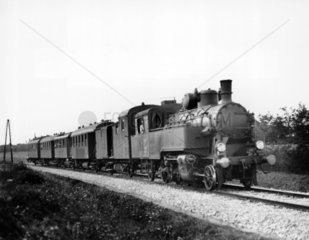MAV steam locomotive  1929. Hungarian Railw