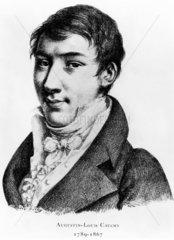 Baron Augustin Louis Cauchy  French mathematician  c 1820.