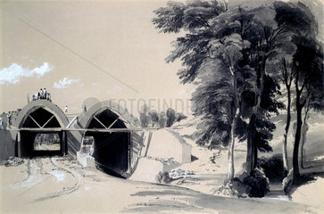 Occupation bridge & Culvert  Bugbrooke  Northamptonshire  9 July 1837.