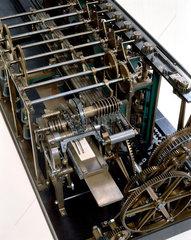 Detail of the Scheutz Difference Engine No 3  1859.