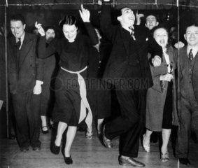 Jitterbug dancing  13 March 1939. 'The Jitt