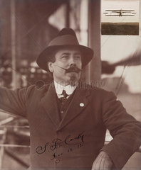 Samuel Franklin Cody  British aviator  1912.