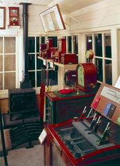 Great Eastern Railway signal box  c 1910.