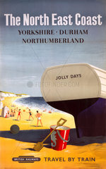 'The North East Coast'  BR poster  1957.