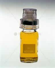 Urine sample in a tamper-proof jar  2000.