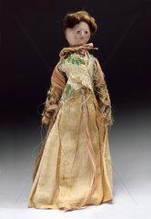 Wooden doll  English  c 1780.