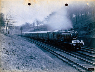 Class B12 locomotive with a continental boa