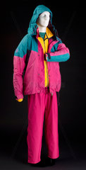 Waterproof jacket and trousers  1993.