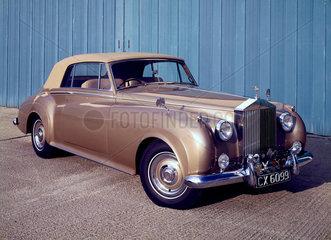 Rolls Royce Silver Cloud II Drophead Coupe  1961.