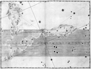 The constellation Pisces  1603.