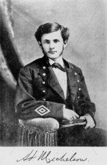 Albert Abraham Michelson  American physicist  1878.