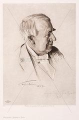 Thomas Alva Edison  American inventor  c 1910.