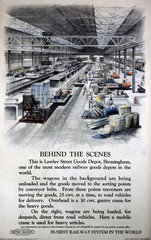 'Behind the Scenes'  poster  1951.