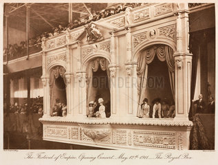 Festival of Empire  opening concert  Crystal Palace  Sydnenham  1911.