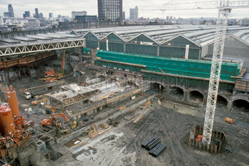 Waterloo International Station  1991.