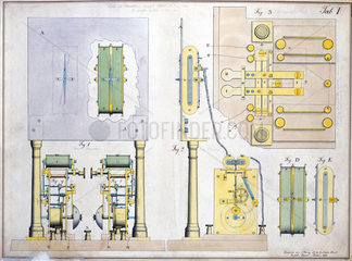 Cooke and Wheatstone English Patent  Table I  6 May 1845.