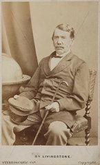 David Livingstone  Scottish missionary and explorer  c 1860s.