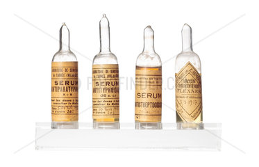 Ampoules of vaccine  1915.