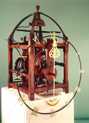 Turret clock  German  1643.