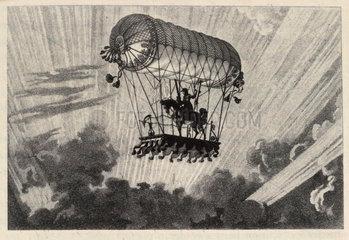 Testu Brissy's equestrian ascension  1798.