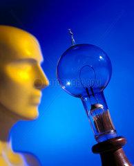 Edison's filament lamp  1879.
