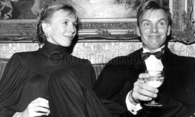 Sting and his wife Trudie Styler  February 1985.