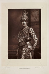 'Sarah Bernhardt'  1890.