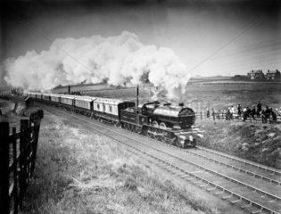 Royal Train at Lostock Junction  1913.