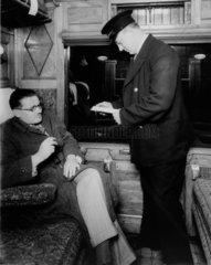 LMS ticket inspector  1938.