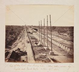 Fortifications of Beijing  21 October 1860.