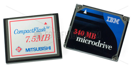 Memory cartridges for digital cameras  2004.