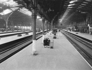 Paddington Station  London  9 June 1942.