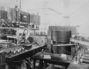 11 inch cyclotron  c 1931. the 11 inch at