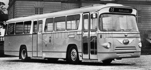 Anglo-Danish bus  June 1966.
